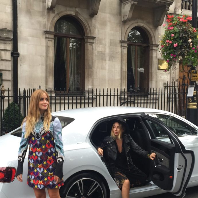 Fashion Week, il lavoro del driver per le modelle