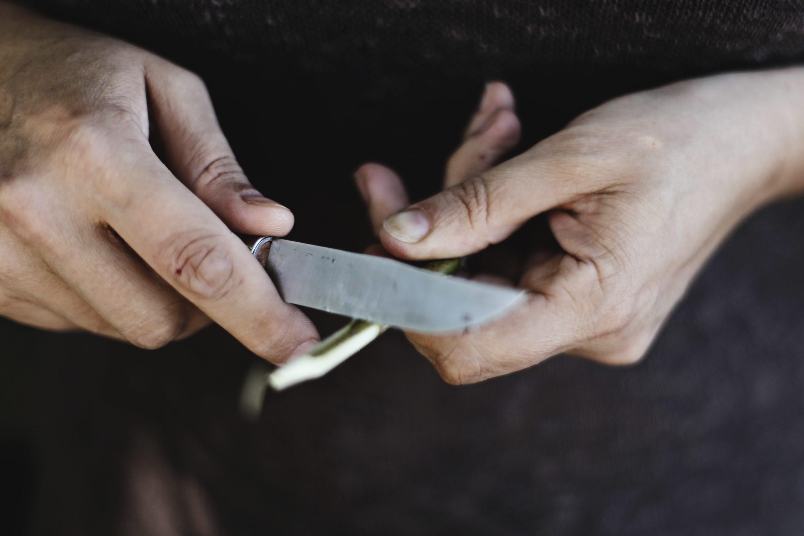 coltello arrotino