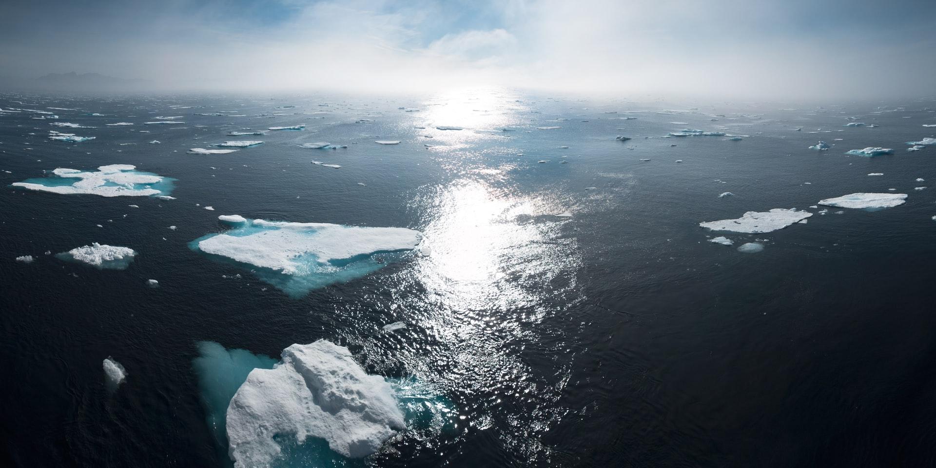 clima- ghiacciai- climate change caldo