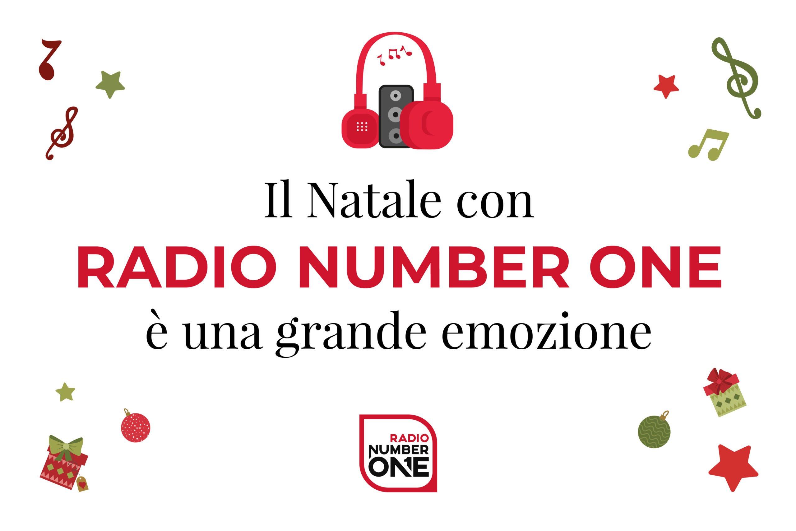 Natale con Radio Number One è una grande emozione