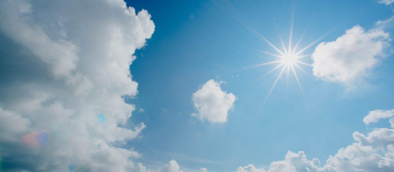 caldo sole sereno