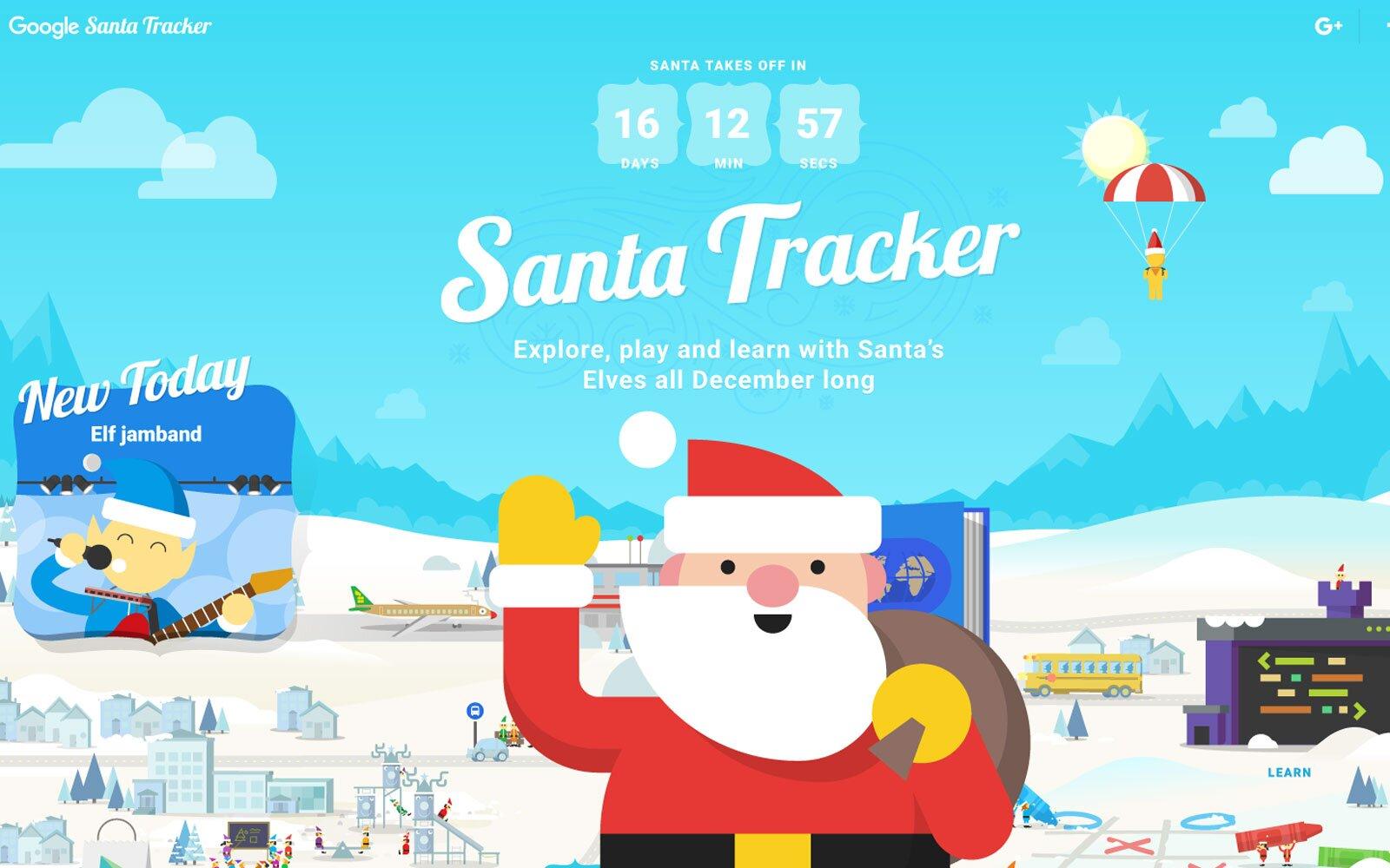 santa tracker google natale 2020