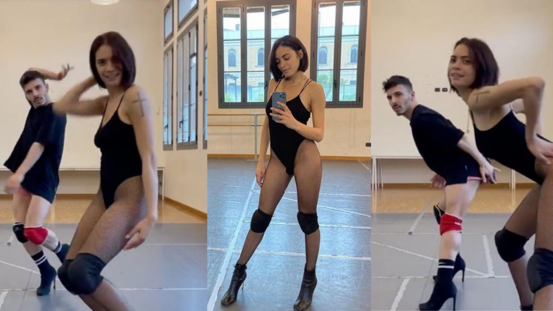Elodie a lezione di Danza
