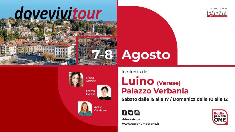 Il Dove Vivi Tour a Luino per il weekend del 7-8 agosto