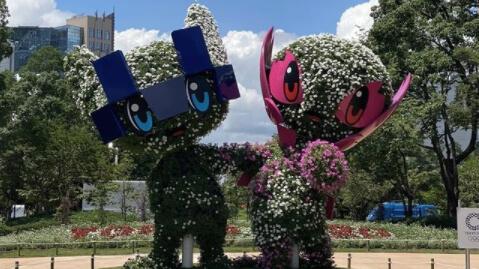 Miraitowa e Someity, le mascotte olimpiche di Tokyo 2020