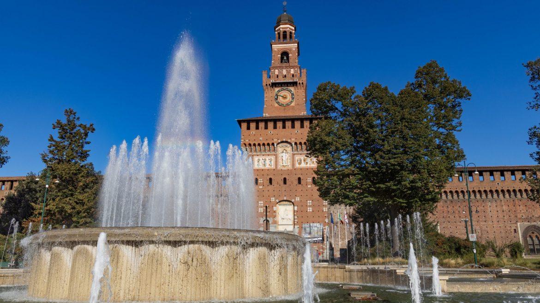 Milano, iniziati ufficialmente i lavori di restyling di Piazza Castello