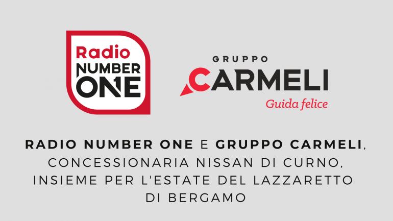 Radio Number One e Gruppo Carmeli sponsor dell'estate del Lazzaretto