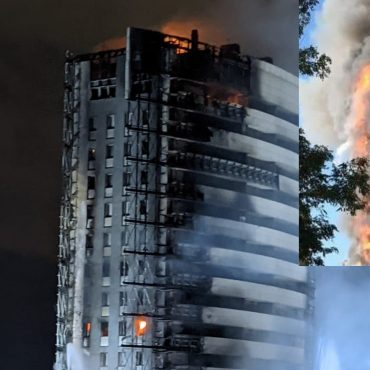 Milano, grattacielo divorato dalle fiamme: paura per Morgan e Mahmood