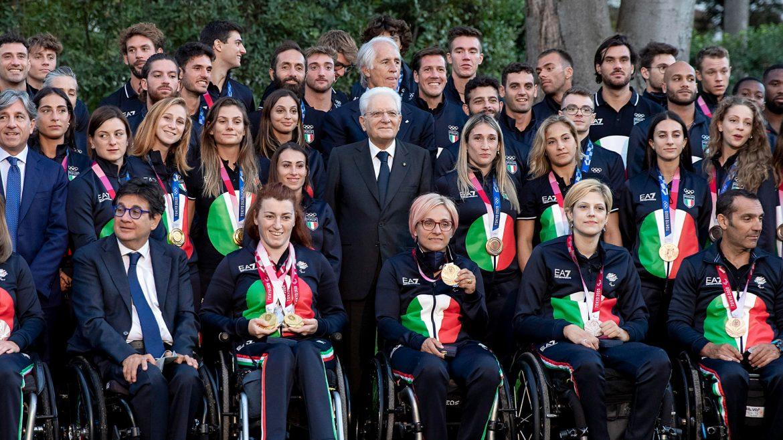 Olimpiadi Paralimpiadi Tokyo da Mattarella