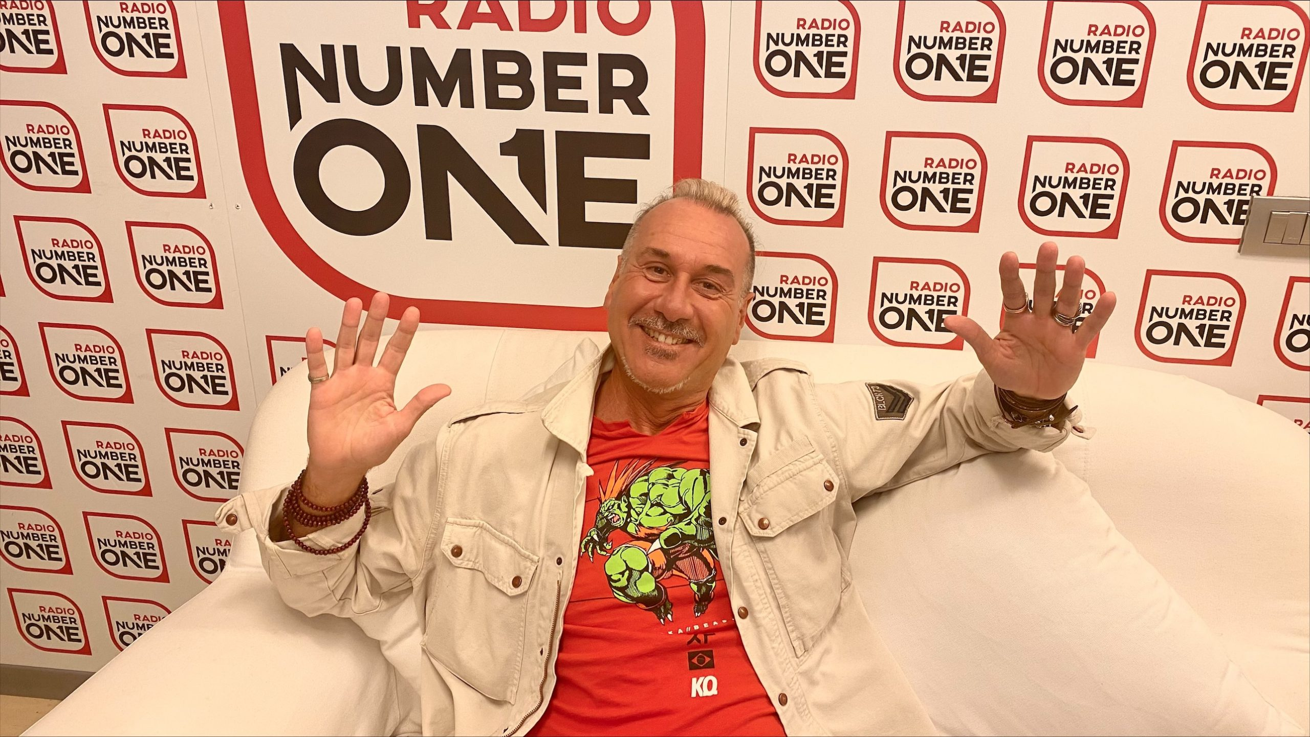Lukino nel weekend di Radio Number One: ogni sabato, dalle 14 alle 17